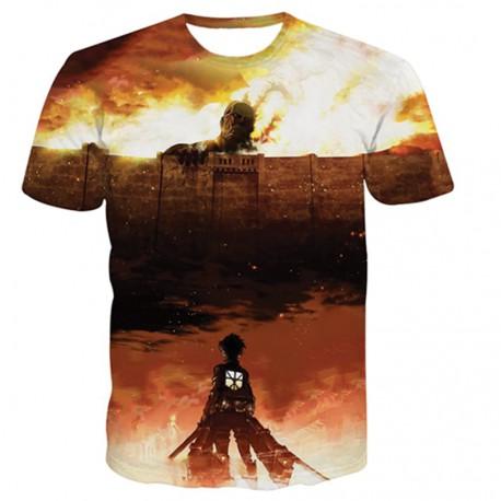 T shirt attaque des titans