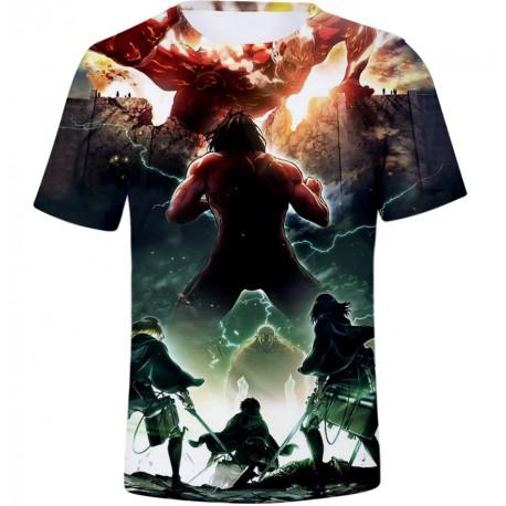T shirt l'attaque des titans