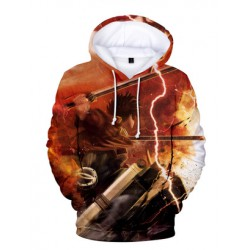 Sweatshirt attaque des titans orange